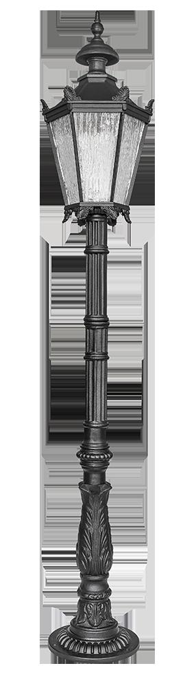 Żeliwne lampy wysokie