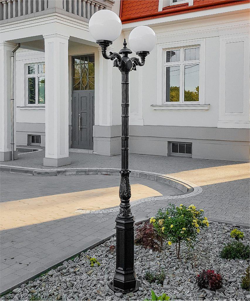 Żeliwne lampy